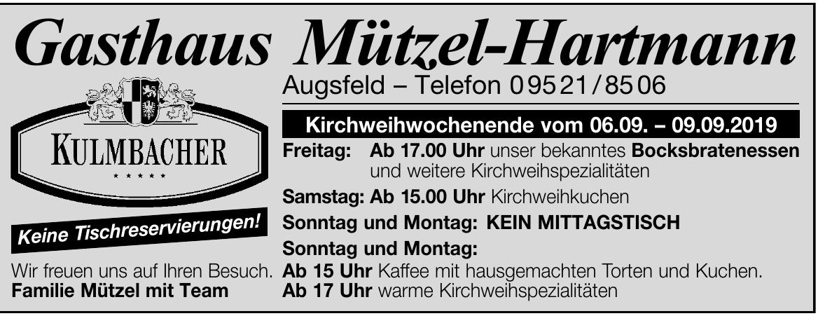 Gasthaus Mützel-Harmann