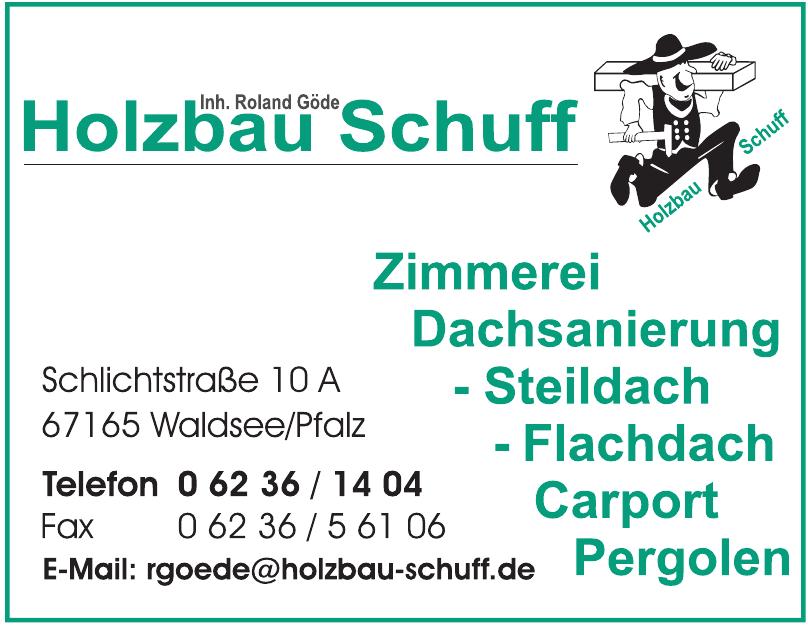 Holzbau Schuff