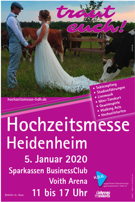 Hochzeitsmesse Heidenheim