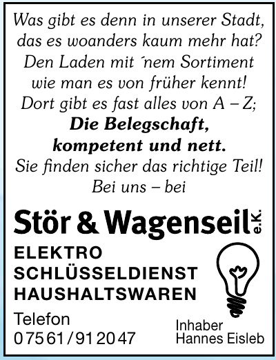 Stör & Wagenseil e.K.