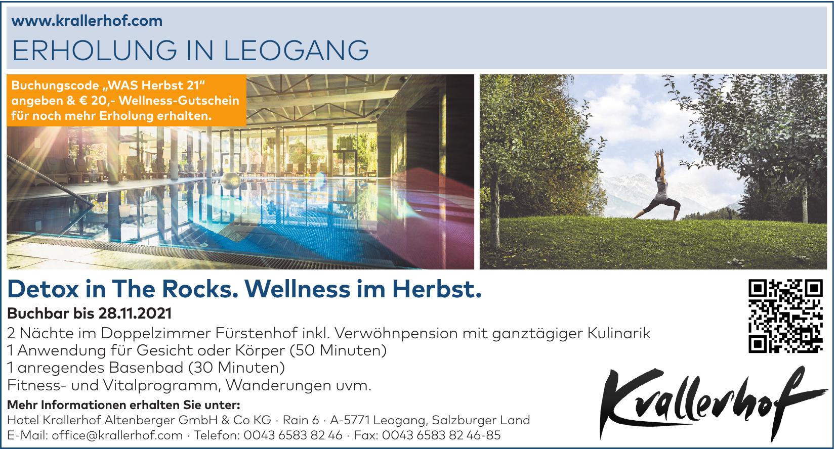 Hotel Krallerhof Altenberger GmbH & Co KG