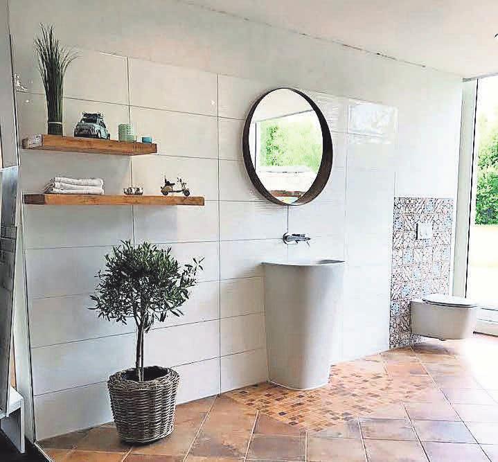 Bei der Badgestaltung können die unterschiedlichsten Fliesen eingesetzt werden.