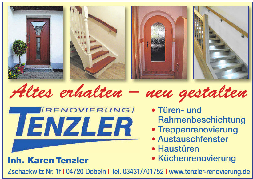Renovierung Tenzler