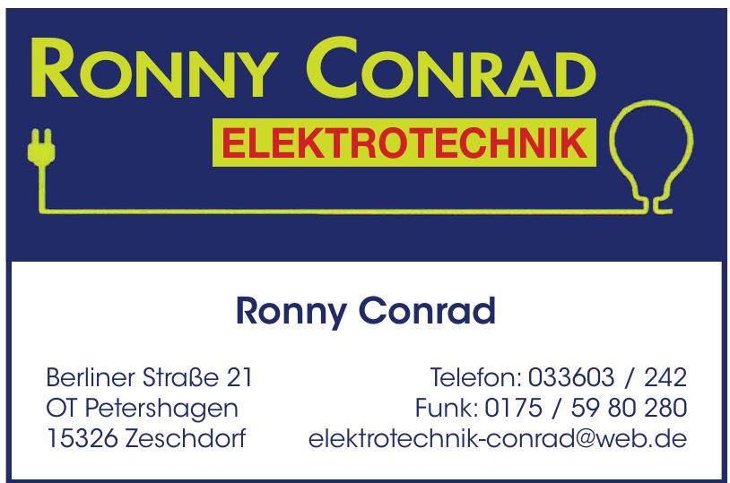 Ronny Conrad Elektrotechnik