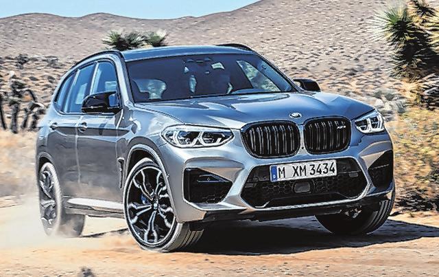 27 BMW X3 M