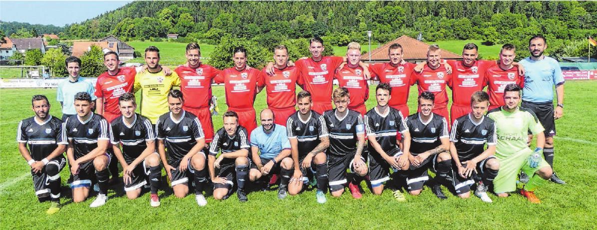 Die Sieger des vergangenen Jahres: Die Kämpen des FC Stetten-Salmendingen schlugen die Gastgeber vom TV Melchingen. Archivfoto