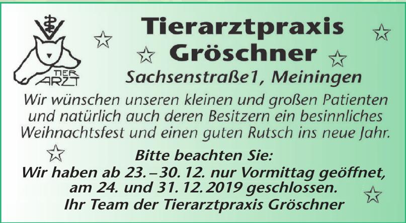 Tierarztpraxis Gröschner