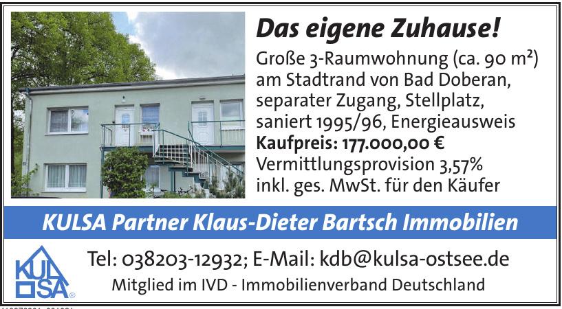KULSA Partner Klaus-Dieter Bartsch Immobilien