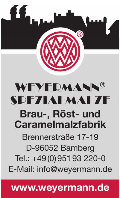 Weyermann® Spezialmalze