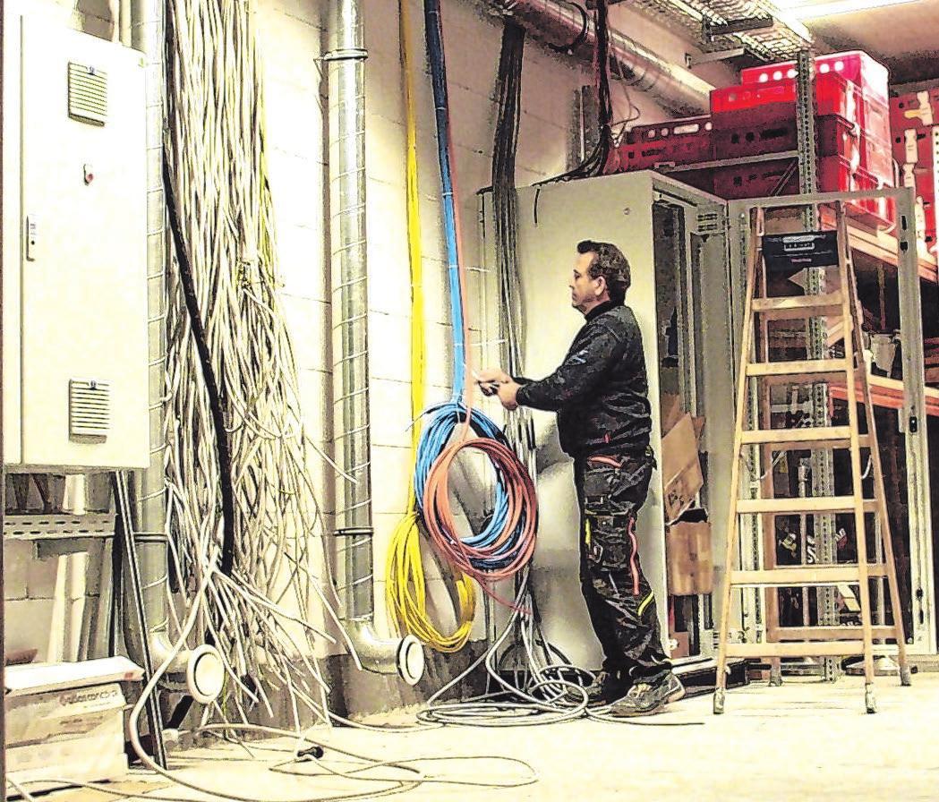 Elektro Schlecker installiert hochwertige elektrische Anlagen – individuell und bedarfsgerecht mit smarten innovativen Lösungen: komfortabel, nachhaltig, effizient.