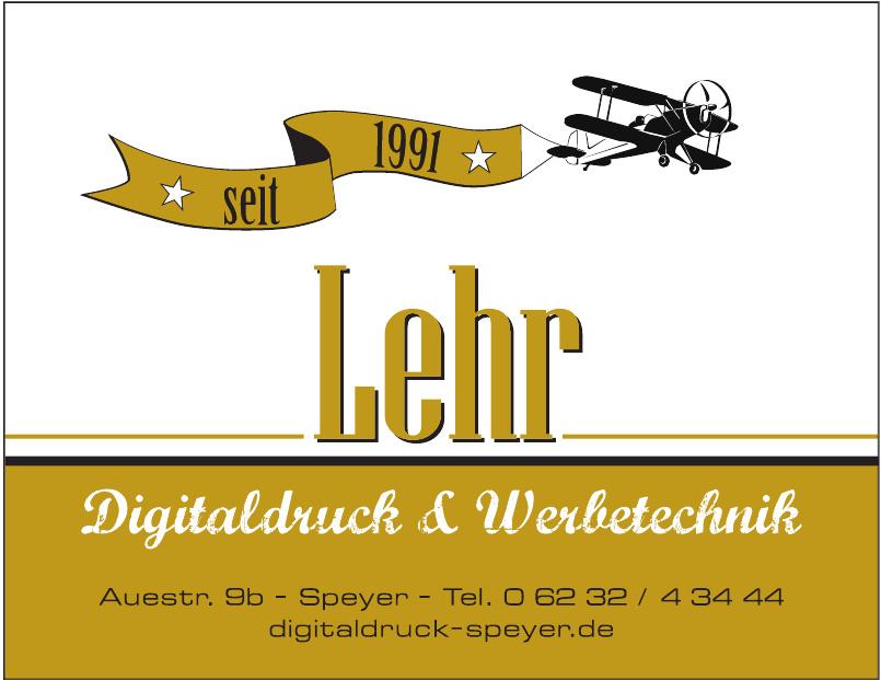 Georg Lehr – Digitaldruck und Werbetechnik