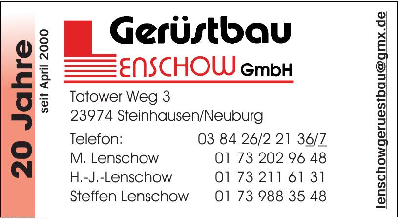 Lenschow Gerüstbau GmbH
