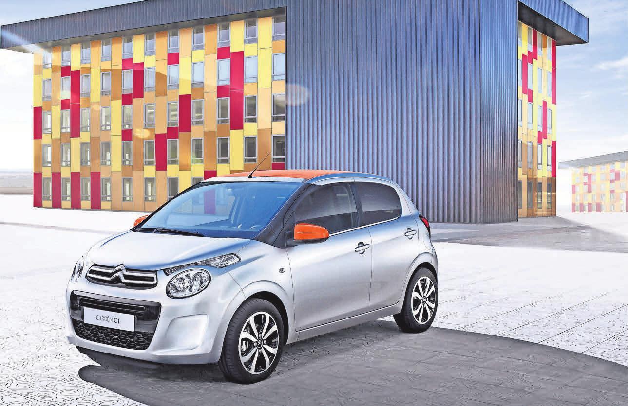 Der Citroën C1 erfüllt bereits jetzt die neuen europäischen Umweltvor