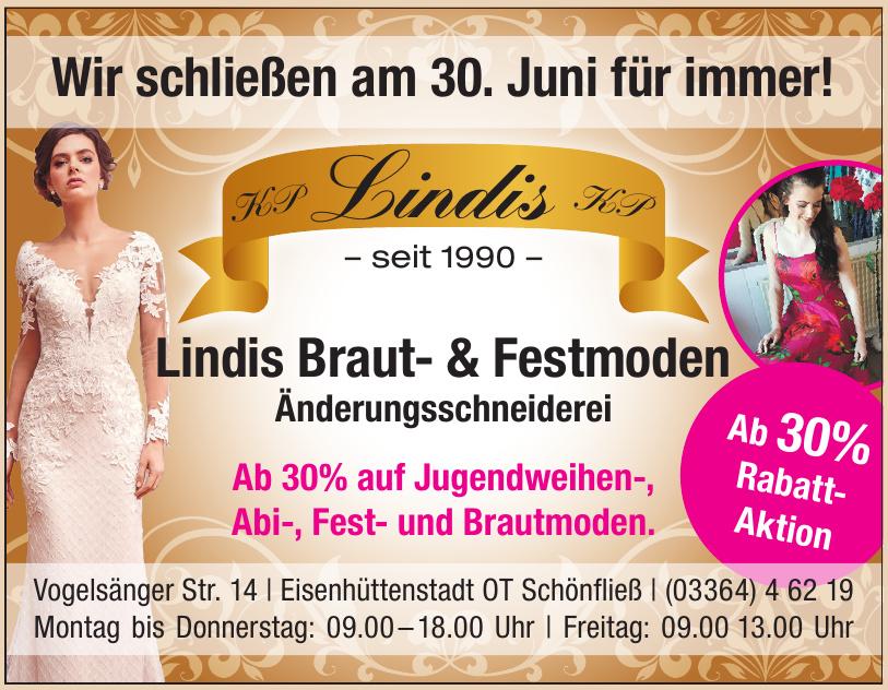 Lindis Braut- & Festmoden - Änderungsschneiderei