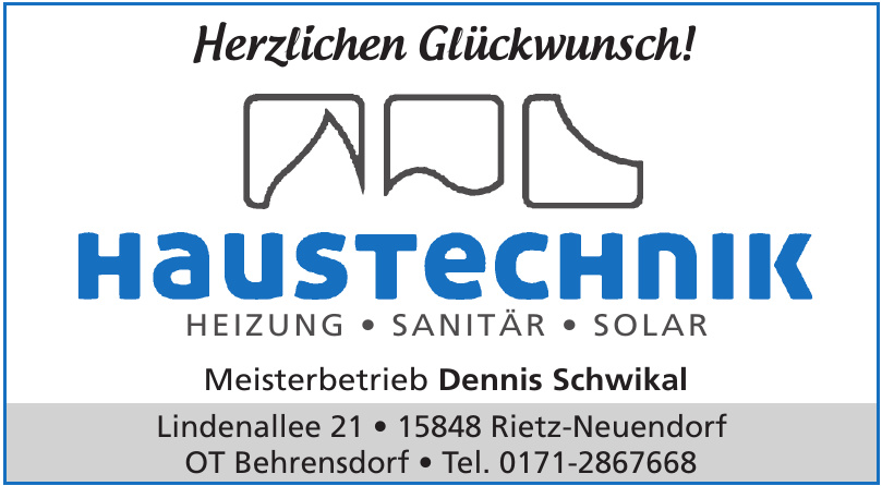 Haustechnik Meisterbetrieb Dennis Schwikal
