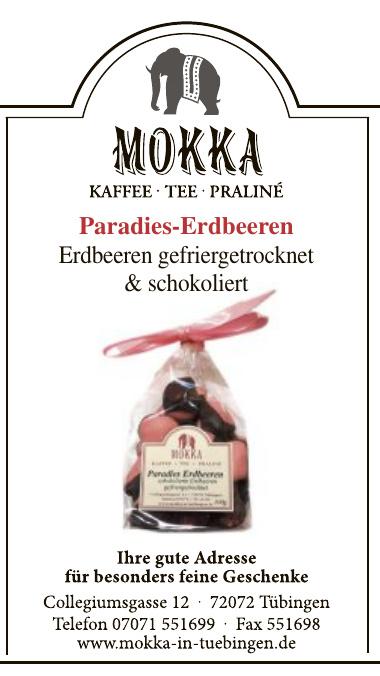 Mokka in Tübingen
