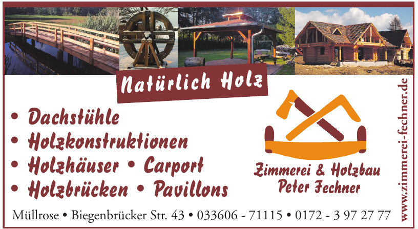 Zimmerei & Holzbau Peter Fechner