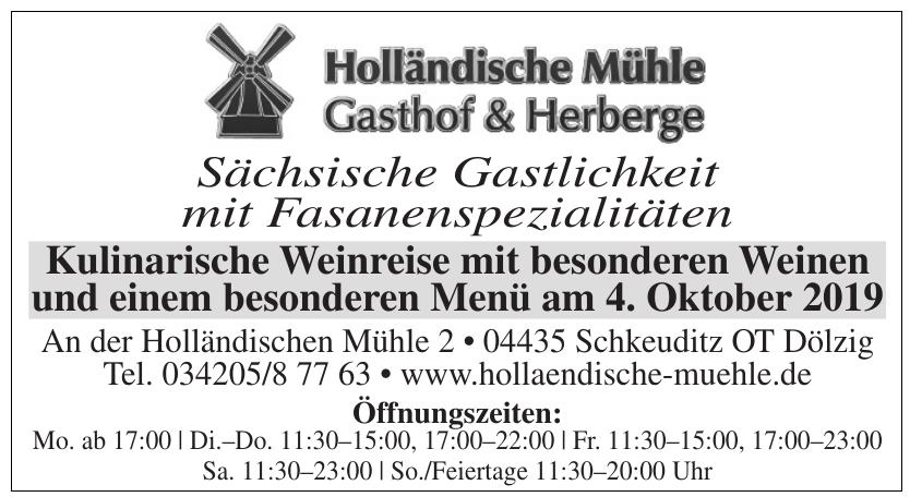Gasthof & Herberge Holländische Mühle