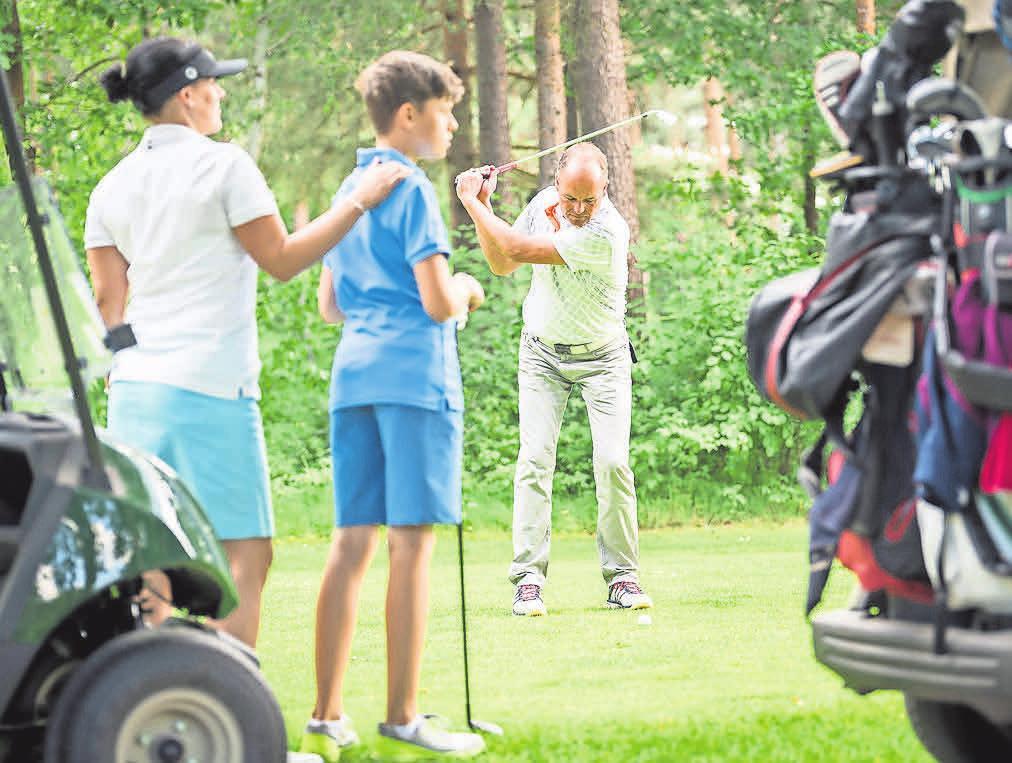 Seit 2017 genießen die Spieler den fertig umgebauten Golfplatz.