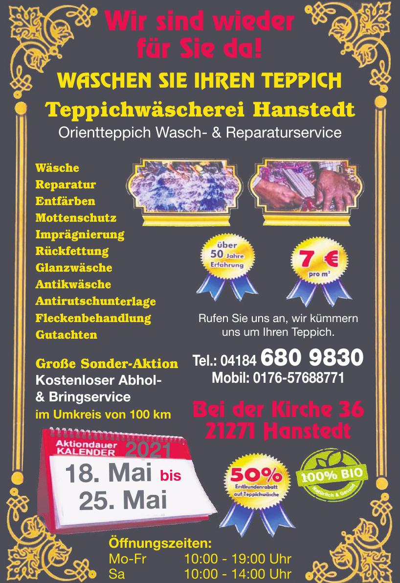 Teppichwäscherei Hanstedt