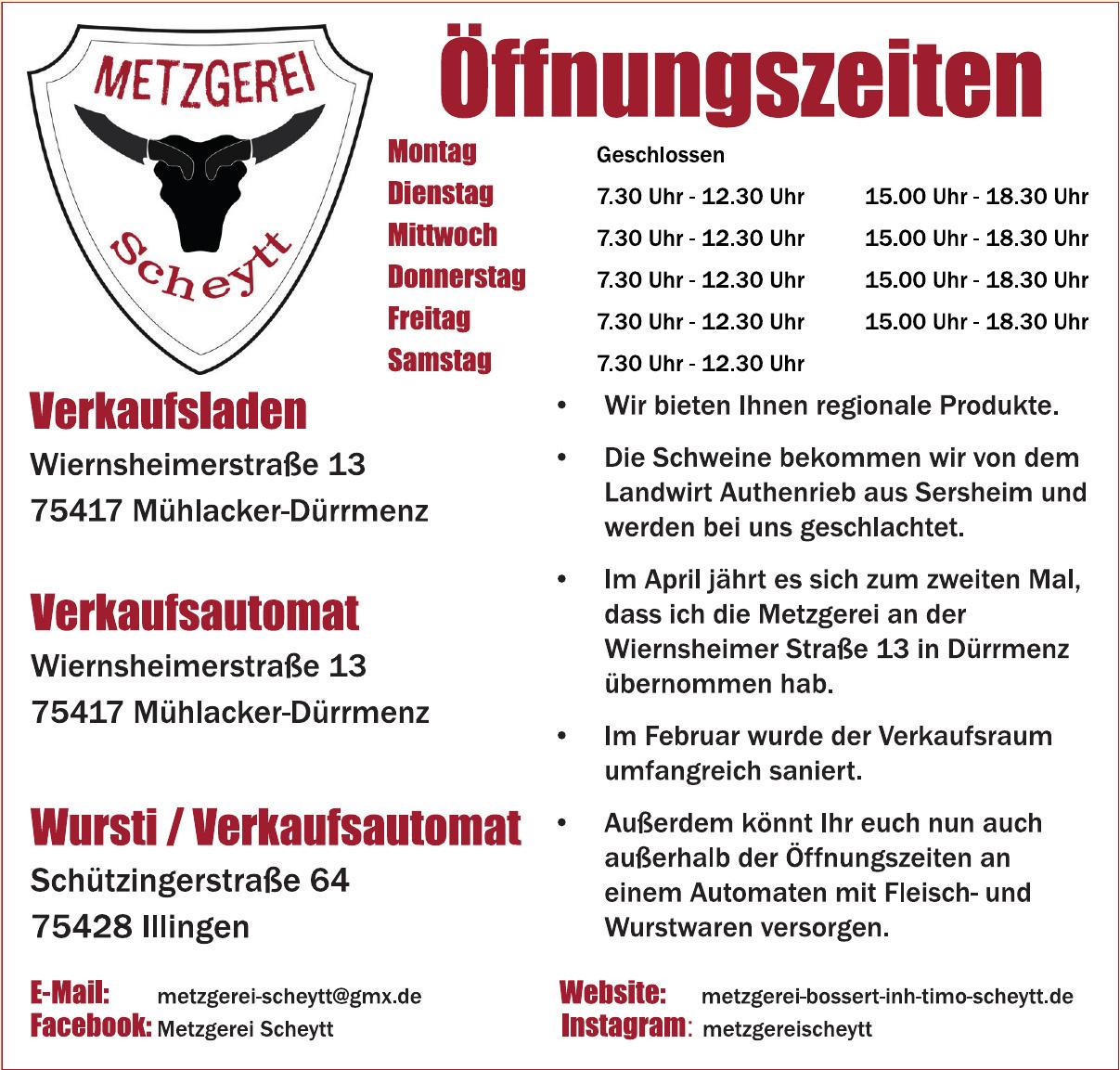 Metzgerei Scheytt