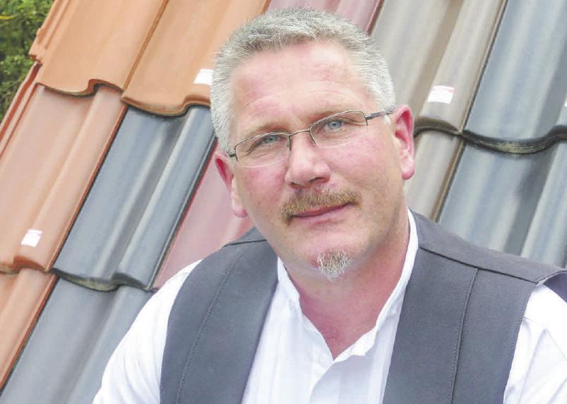 Dirk Hildebrandt, Obermeister der Dachdecker-Innung Gifhorn