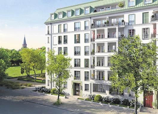 Rund 10.000 Euro kostet der Quadratmeter im Projekt Am Hochmeisterplatz nähe Kurfürstendamm. FOTO: ZIEGERT