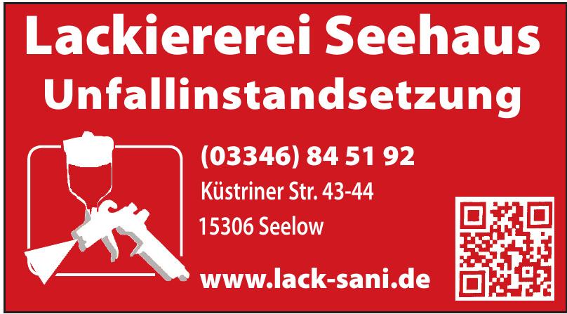 Lackiererei Seehaus