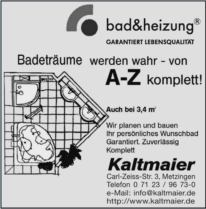 Bad & Heizung Kaltmaier