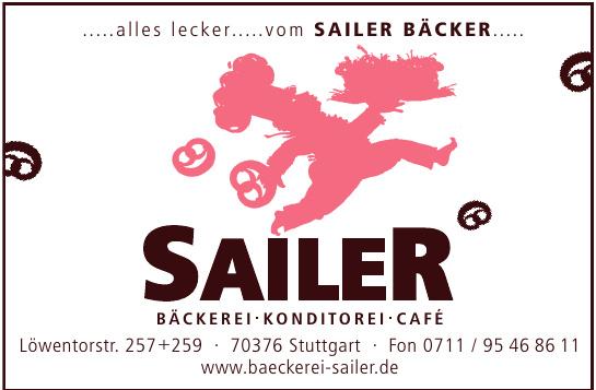 Sailer Bäckerei Konditorei Café