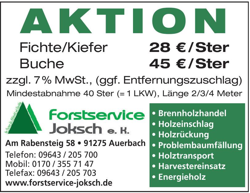 Forstservice Joksch e.K.