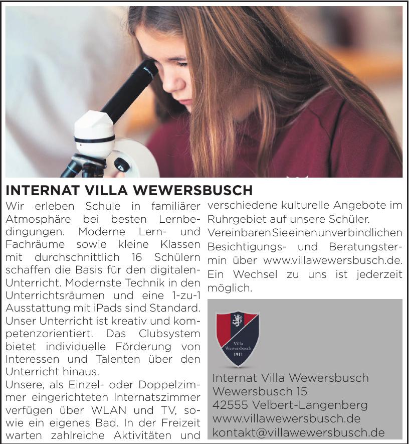 Internat Villa Wewersbusch