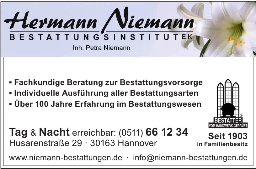 Hermann Niemann Bestattungsinstitut e.k.