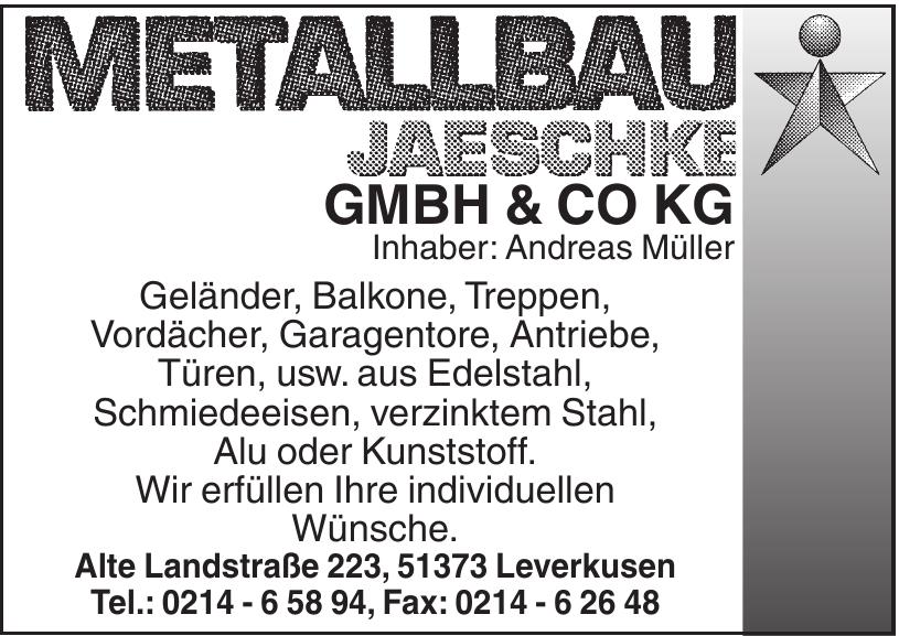 Metallbau Jaeschke GmbH und Co KG