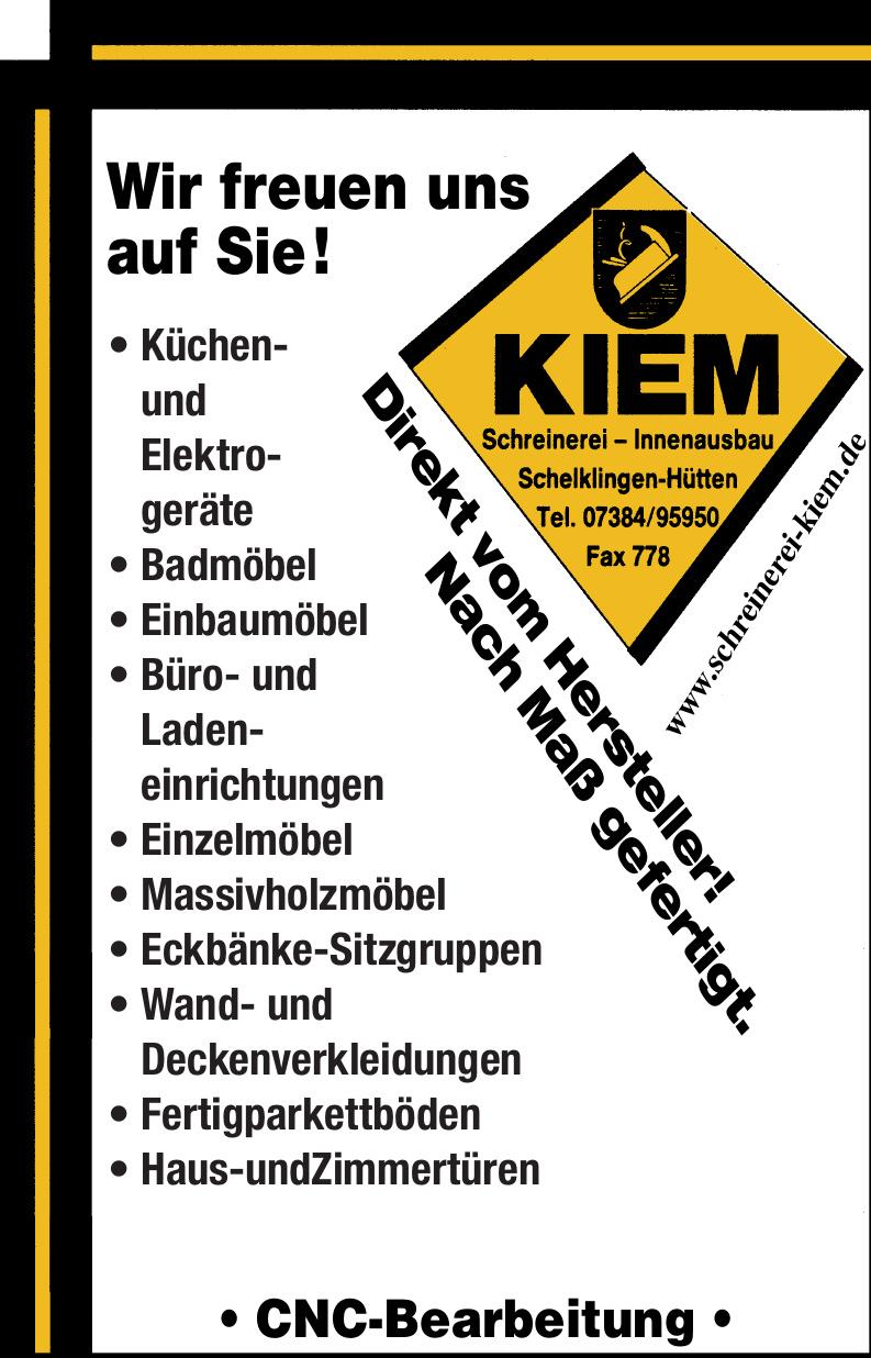 Kiem Schreinerei - Innenausbau