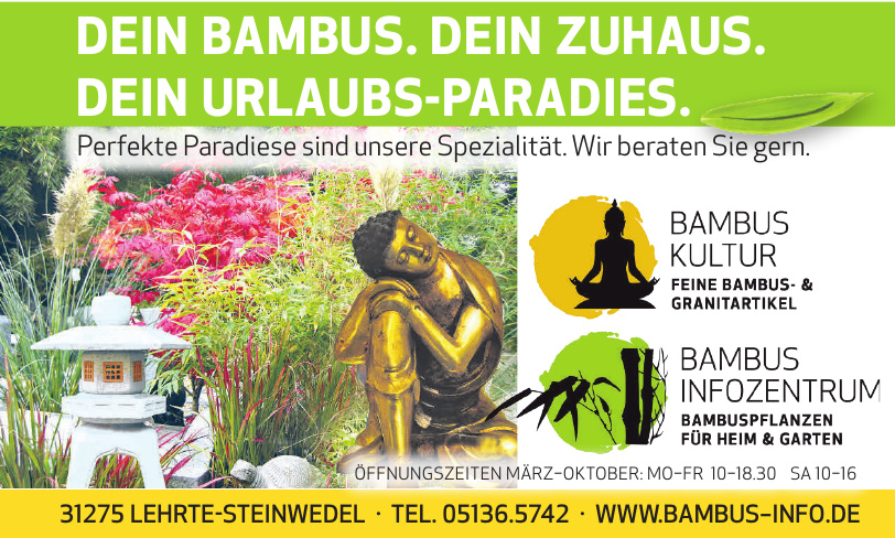 Bambus Infozentrum