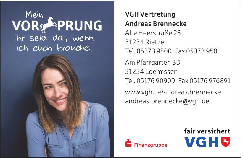 VGH Vertretung Andreas Brennecke