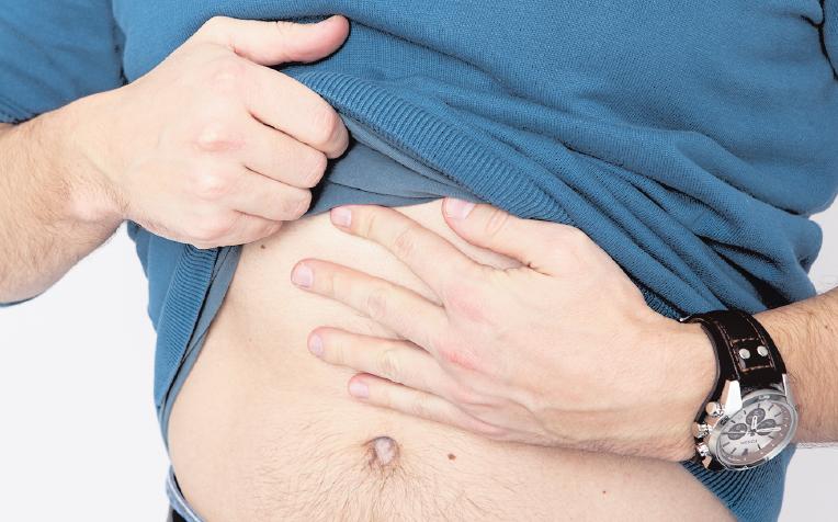 Eine akute Entzündung der Bauchspeicheldrüse macht sich durch starke Bauchschmerzen bemerkbar. FOTOS: DPA