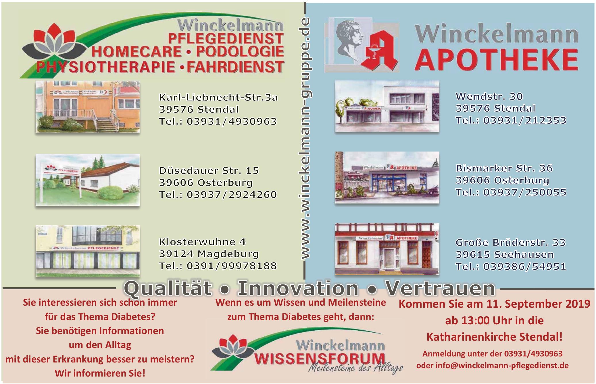 Winckelman Pflegedienst Stendal