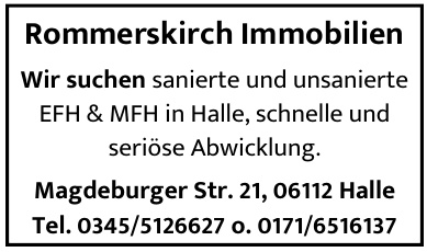 Rommerskirch Immobilien