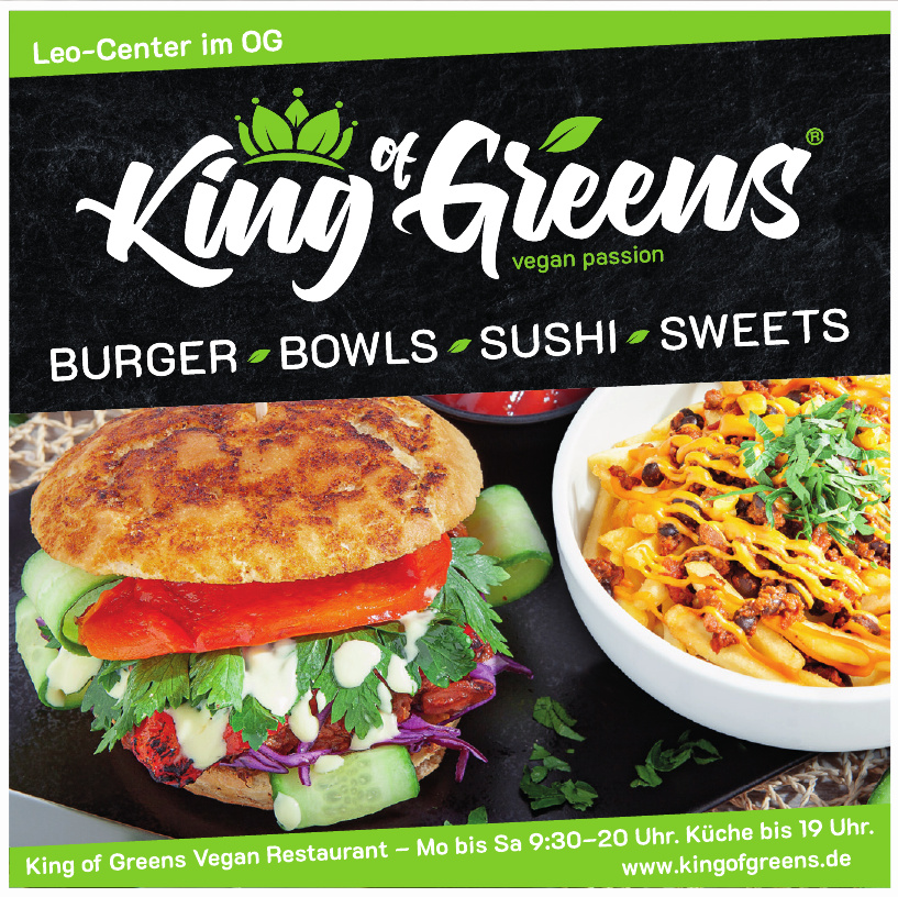 King of Greens Vegan Restaurant