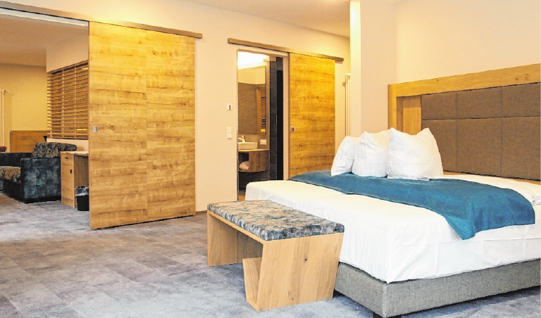 Komfortable Zimmer sorgen für einen angenehmen Aufenthalt. FOTOS: DOMINIK RÖDING