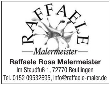 Raffaele Rosa Malermeister