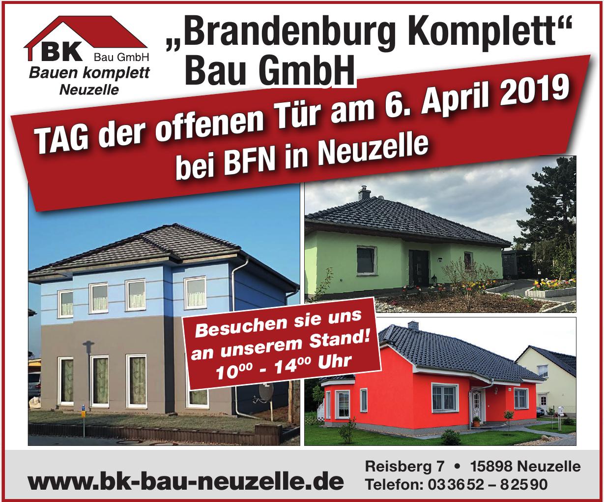 """Brandenburg Komplett"" Bau GmbH"