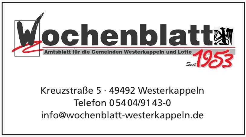 Wochenblatt Westernkappeln