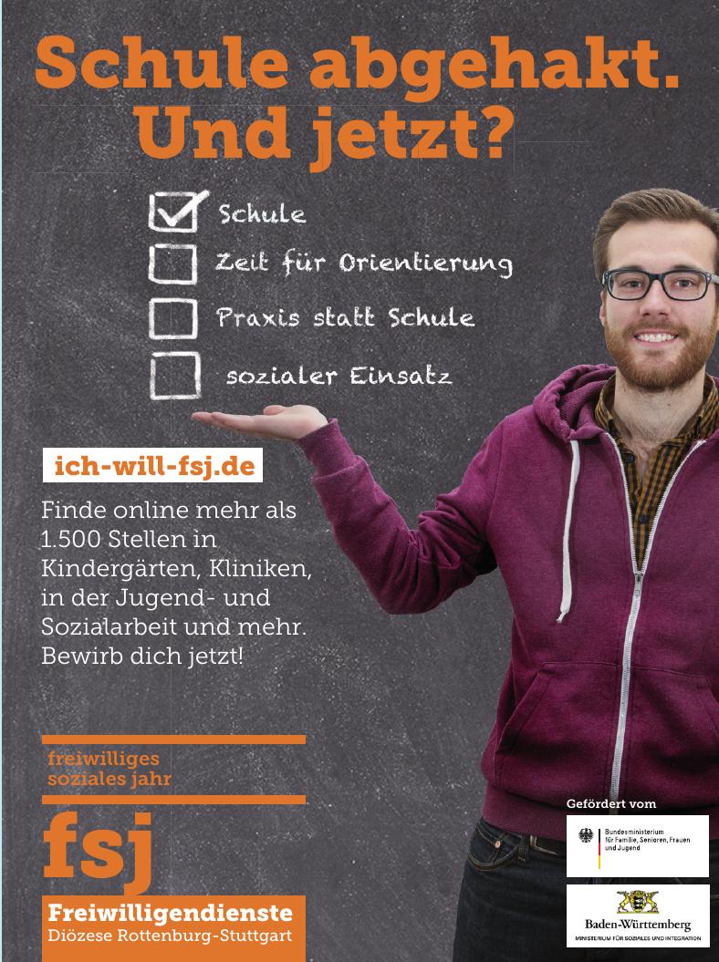 Freiwilligedienste Diözese Rottenburg-Stuttgart