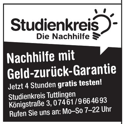 Studienkreis Tuttlingen