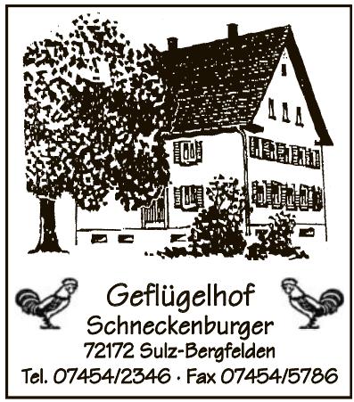 Geflügelhof Schneckenburger