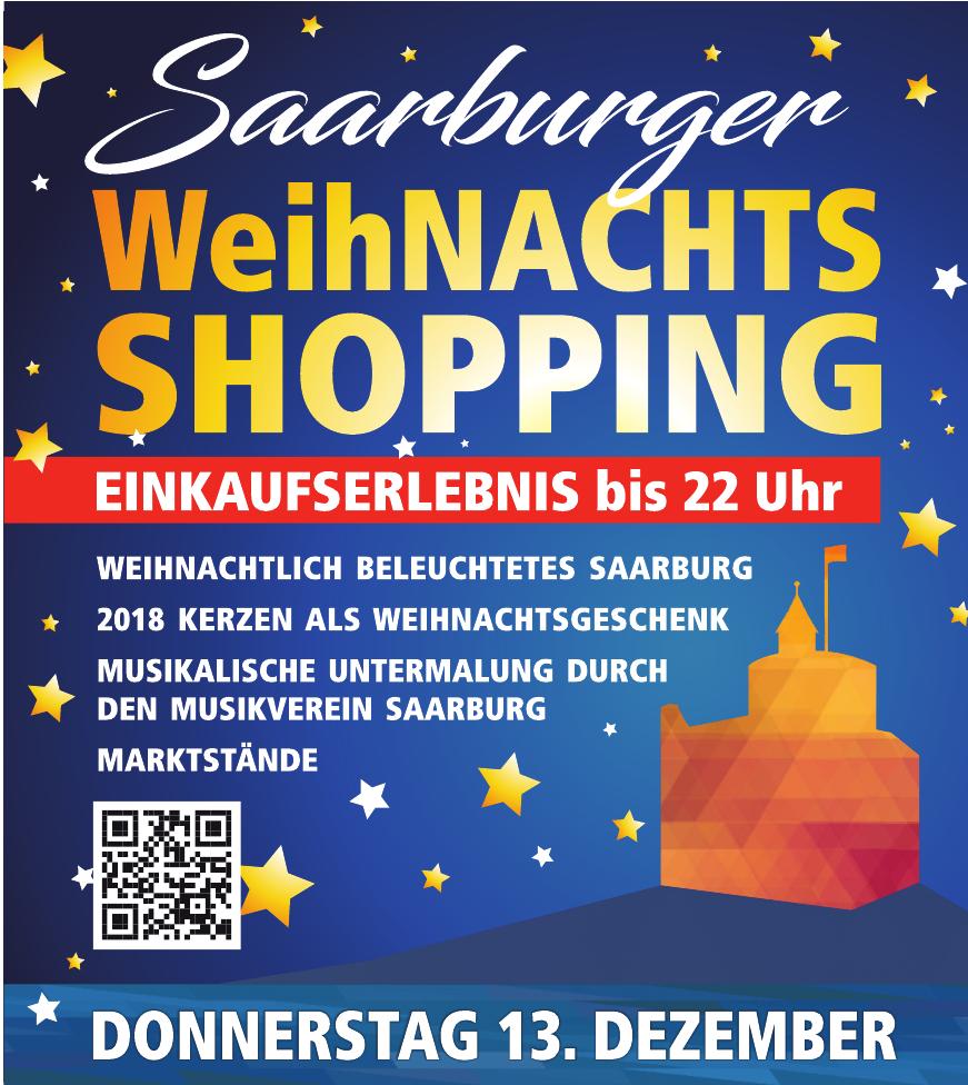 Saarburger WeihNachts Shopping
