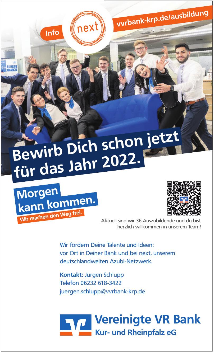 Vereinigte VR Bank Kur- und Rheinpfalz eG